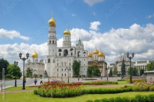 Architektoniczny zespół katedr Moskwa Kremlin, Rosja