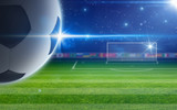 Abstract soccer background - 182871970