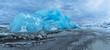 Quadro Iceberg lagoon in Fjallsarlon, Iceland