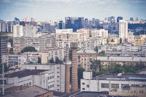 Keuken foto achterwand Aubergine Kiev, top view