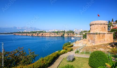 Wall mural Panoramic view of Antalya city, Turkey