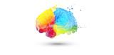 cervello, fantasia, colori - 182907952