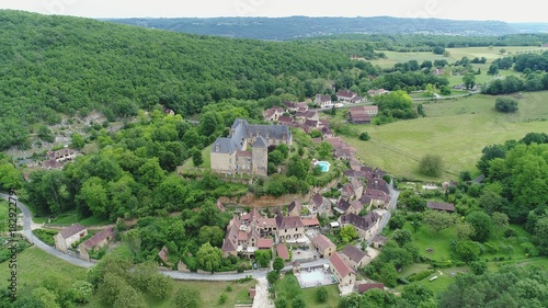 Foto op Canvas Olijf France Dordogne Village de Berbiguière