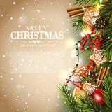 Christmas traditional card