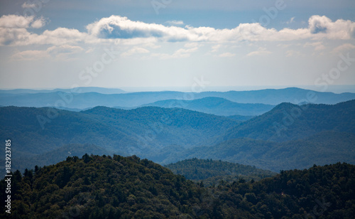 Foto op Canvas Blauwe jeans Blue Ridge Mountains