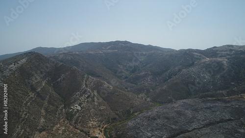 Foto op Aluminium Blauwe hemel Grèce Cyclades île d' Ios