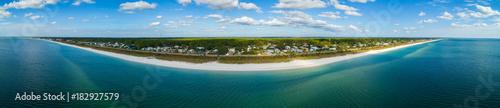 Keuken foto achterwand Groen blauw Aerial Mexico Beach Florida