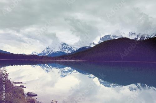 Aluminium Galyna A. Lake in Canada