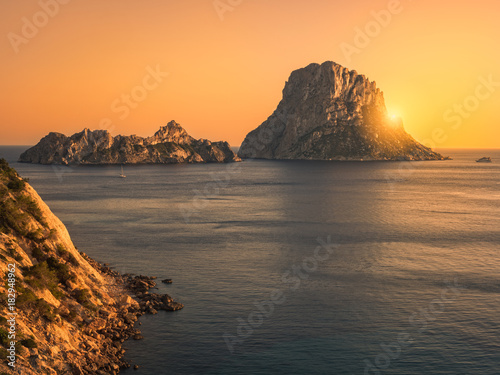 Ibiza, Es vedrá y Es Vedranell, España