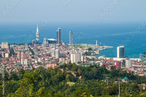 Batumi city center, Georgia, view from above Poster