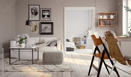 Kleines Altbau Apartment - small swedish vintage apartment downtown © Christian Hillebrand