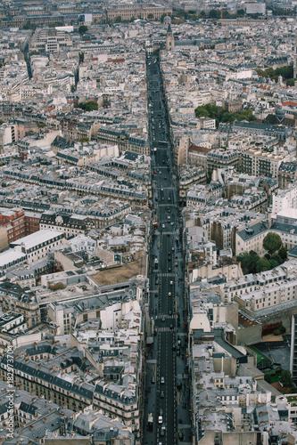 Fototapeta Streets of Paris.