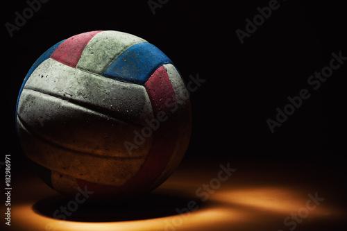 Fototapeta Dirty Volleyball Ball