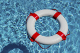 lifebuoy in a pool - 182993746