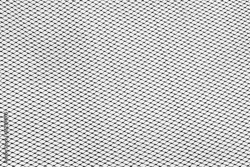 Aluminium Textures silhouette of fishing net - monochrome