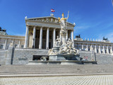 austria, vienna, parliament - 182997324