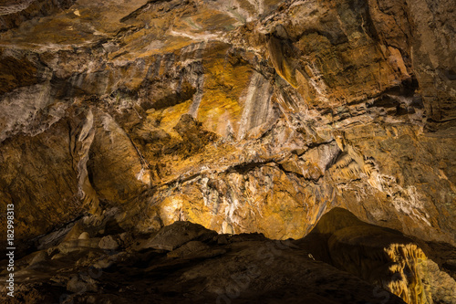 Foto op Canvas Stenen Crystal Cave