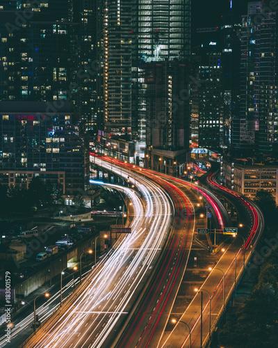 Staande foto Toronto Toronto highway