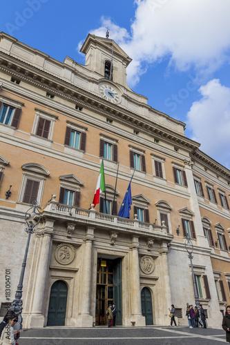 Plexiglas Rome italy, rome, parliament