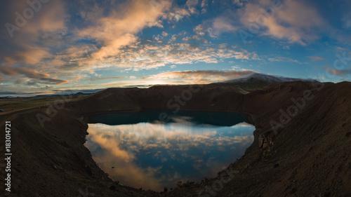 Foto op Canvas Zwart Landscape of Iceland