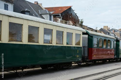 chemin de fer de la baie de Somme Poster