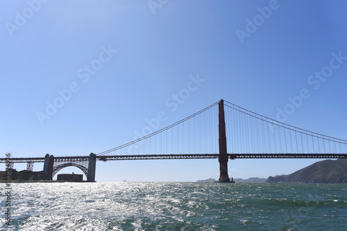 Plakat Golden Gate Bridge from the Bay