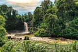 big and magical waterfall in bali. indonesia - 183030590