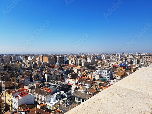 View of Valencia - Look down (Valencia, Spain)