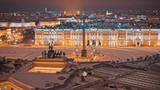 Palace Square in winter - 183034738