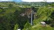 Quadro Sipisopiso waterfall at Tonging Village, North Sumatra, Indonesia