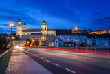 Passau city night scenes - 183054941