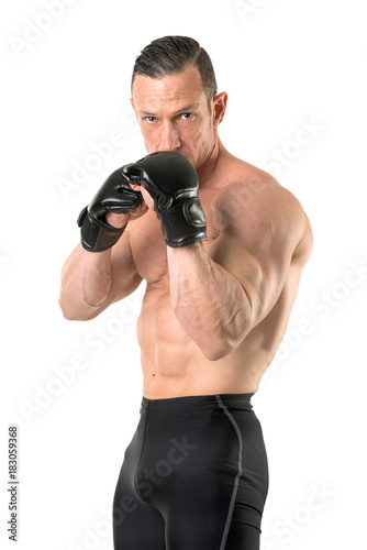 MMA fighter Poster