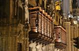 Balcón del Palacio Arzobispal, Lima, Perú - 183070583