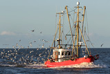 fishing vessel at sea