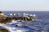 cabanes de pécheurs sur la cote atlantique - Carrelets - 183074543