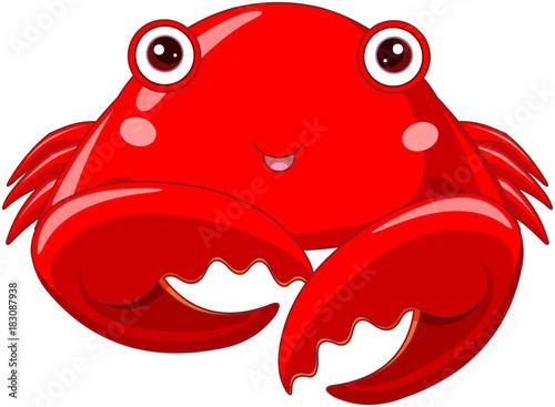 Poster Sprookjeswereld Crab