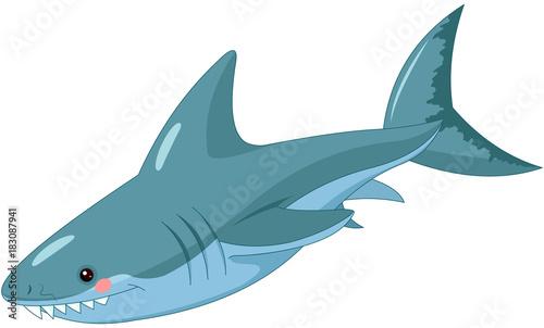 Poster Sprookjeswereld Shark