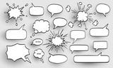 Set of speech bubbles. - 183091736