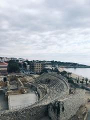 amphitheater in Tarragona, Spain