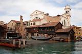 rimessaggio gondole a Venezia - 183122776
