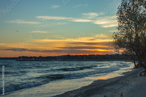 Foto op Canvas Canada Late Sunset 1