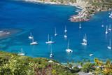 Sailboats At English Harbor In Antigua - 183134512