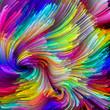 Propagation of Liquid Color