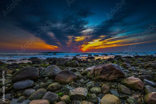 Staande foto Zee zonsondergang Sunrise from Montauk, Long Island, NY