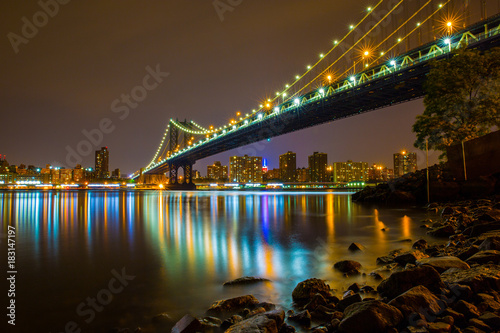 Plakat Manhattan Bridge od DUMBO