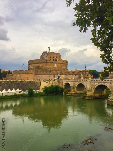 Foto op Canvas Rome Castel Sant'Angelo