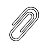 spinacz biurowy ikona - 183167175