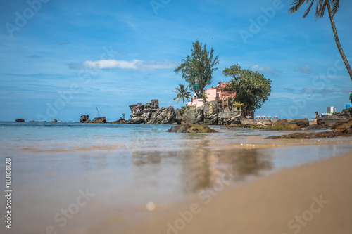 Foto op Canvas Tropical strand Phu Quoc Vietnam, rocks and the beach