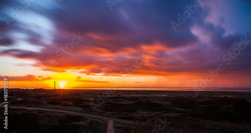Sonnenaufgang mit Wolkenpanorama