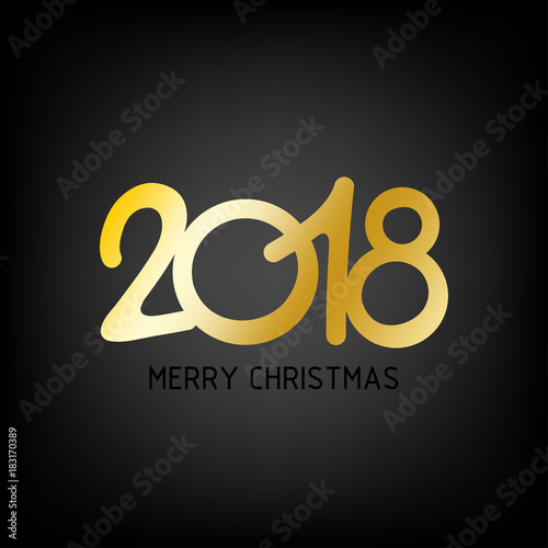 happy new year 2018 background new year and merry christmas 2018 theme